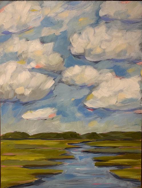 Talbot Island Marsh by Trish Jones