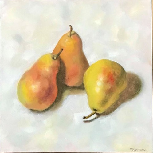 Golden Pears by Victoria Germond