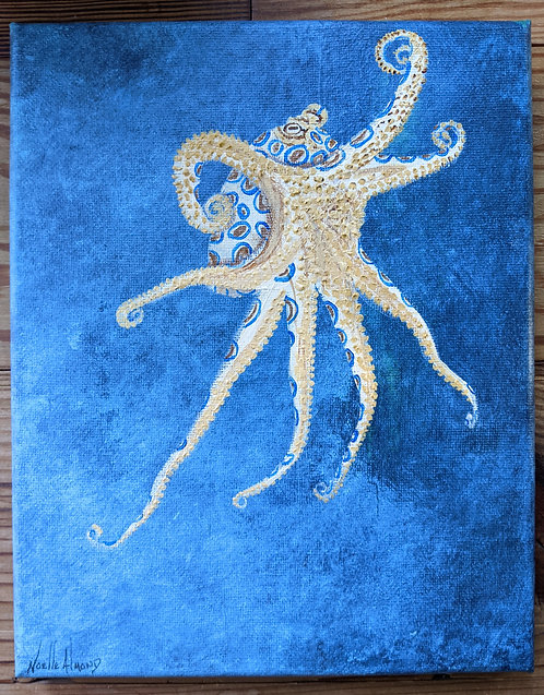 Noelle Almond - Out for Dinner, Blue Ringed Octopus