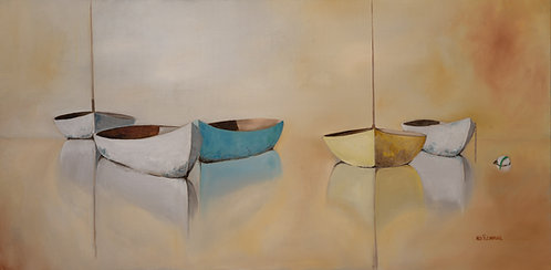Dinghy Quintet by Ned Flemming