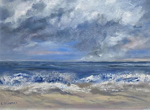 Ocean Storm by Lois Grunder