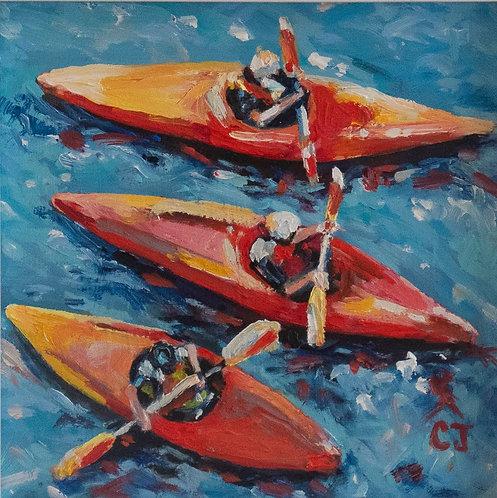 Sea Kayaks by Cindy Jenkins