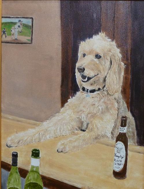 A Dog Walks into a Bar by Gary Rubin