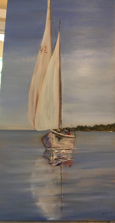 The Old Boat by Ginger Bender
