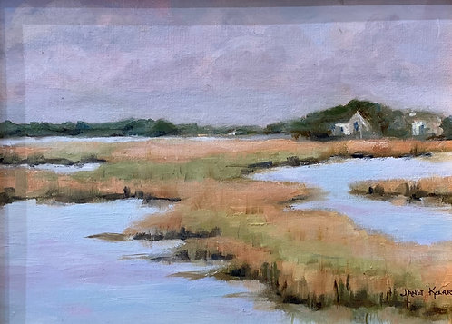 View from Walkers Landing by Janet Kolar