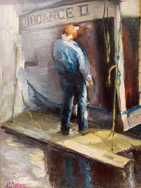 The Boat Painter by Nancy Bartmess