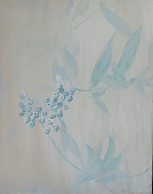 Frost on the Berries by Jeanne Tennyson