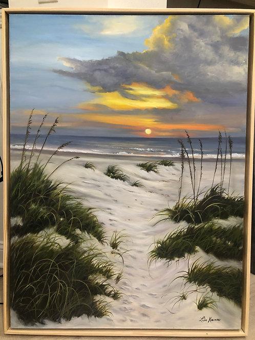 Footsteps at Dawn by Lisa Kovacs
