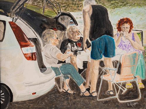 Tailgaters by Gary Rubin