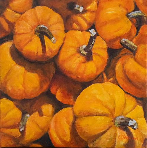Autumn Pumpkins by Cindy Jenkins
