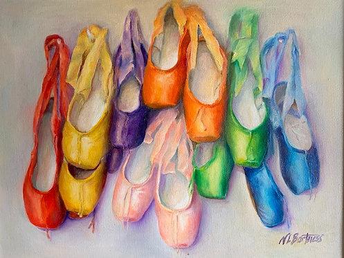 Ballet Rainbow by Nancy Bartmess