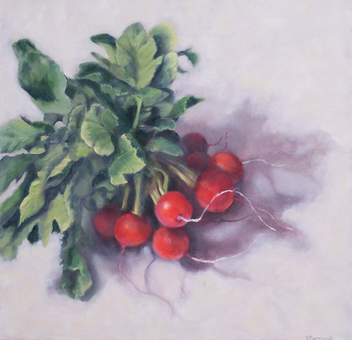 Bunch of Radishes by Victoria Germond