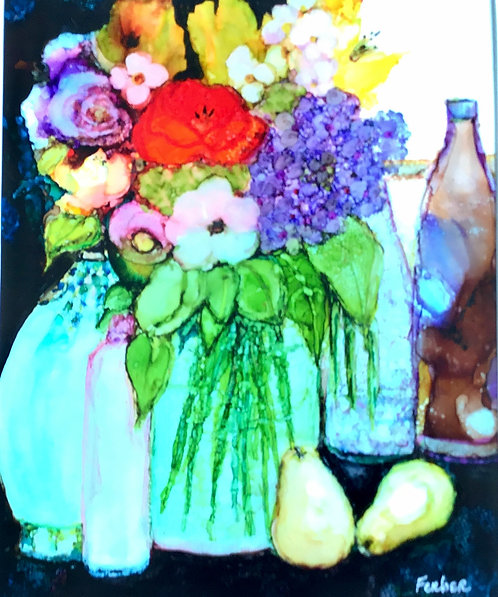 Happy Still Life by Sherry Ferber
