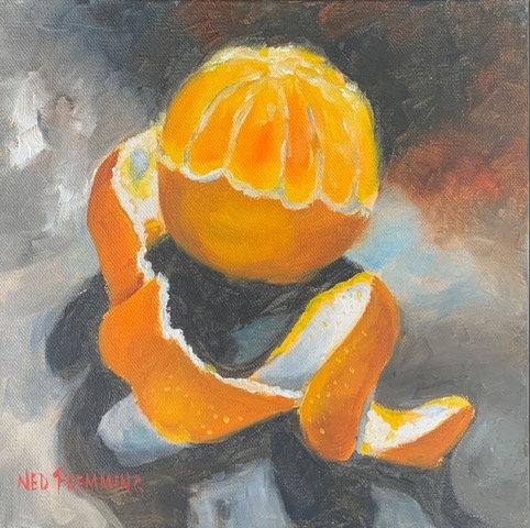 Orange A-Peel by Ned Flemming
