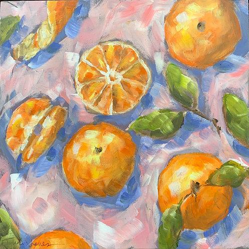 Fresh Oranges by Trish Jones