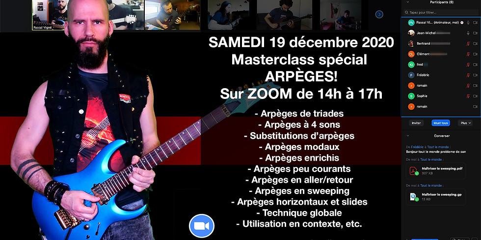 Masterclass spécial ARPÈGES samedi 19 décembre 2020!