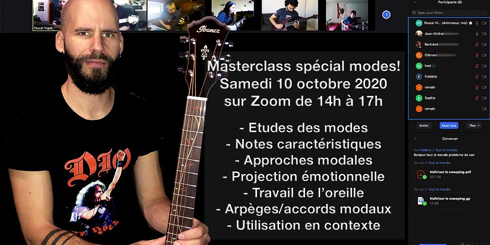 """Masterclass spécial """"modes"""" 10 octobre 2020"""
