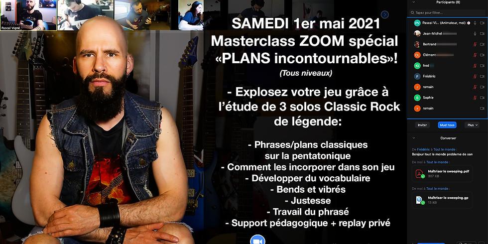 """Masterclass spécial """"PLANS incontournables"""" samedi 1er mai 2021!"""