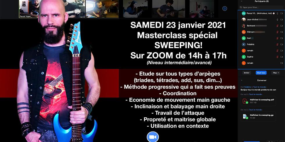 Masterclass spécial SWEEPING samedi 23 janvier 2021!