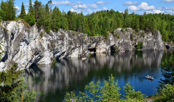 Горный-парк-Рускеала-Карелия