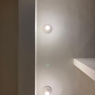 luce a soffitto