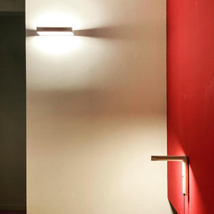 luce ambiente e luce puntuale
