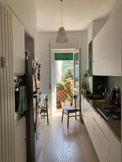 piccola cucina abitabile
