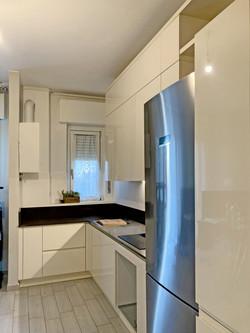 cucina laccata color crema