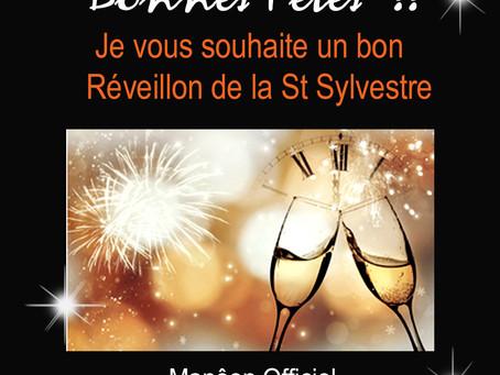 Joyeuses Fêtes !! à tous et à toutes, Bon Réveillon de la St Sylvestre