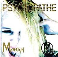 Chanson Psychopathe Manôon pochette CD.j