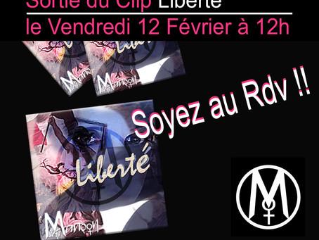 """J - 8 Avant la sortie de mon Clip """"Liberté"""" Chanteuse Manôon"""