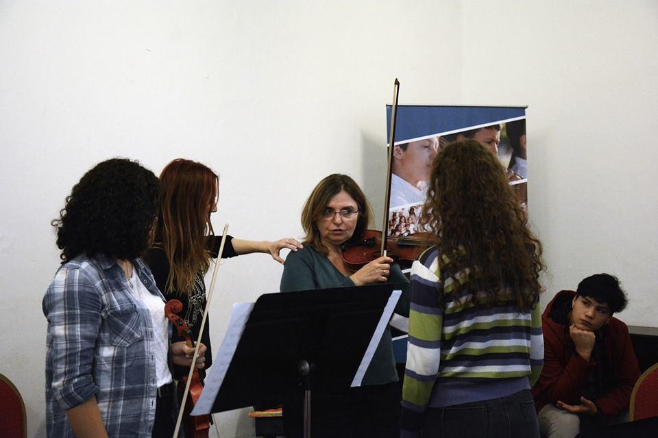 Clases de violín y pedagogía