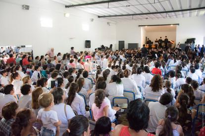 Orquesta Juvenil del Sodre en Escuela N°7 de Durazno
