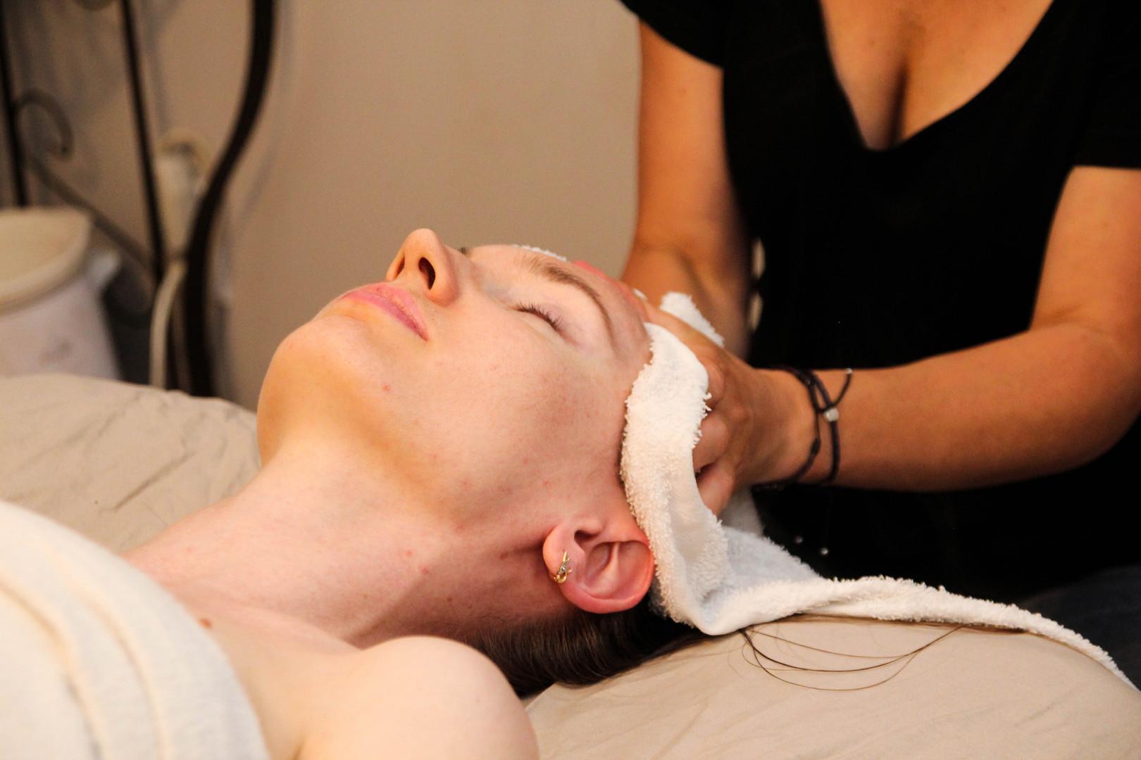 Indian Scalp Massage