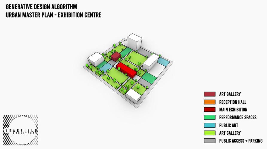 Exhibition Centre -  Adaptive Algorithm.