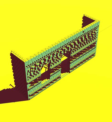 Karoo Farmhouse_Generative Brick Walls 4