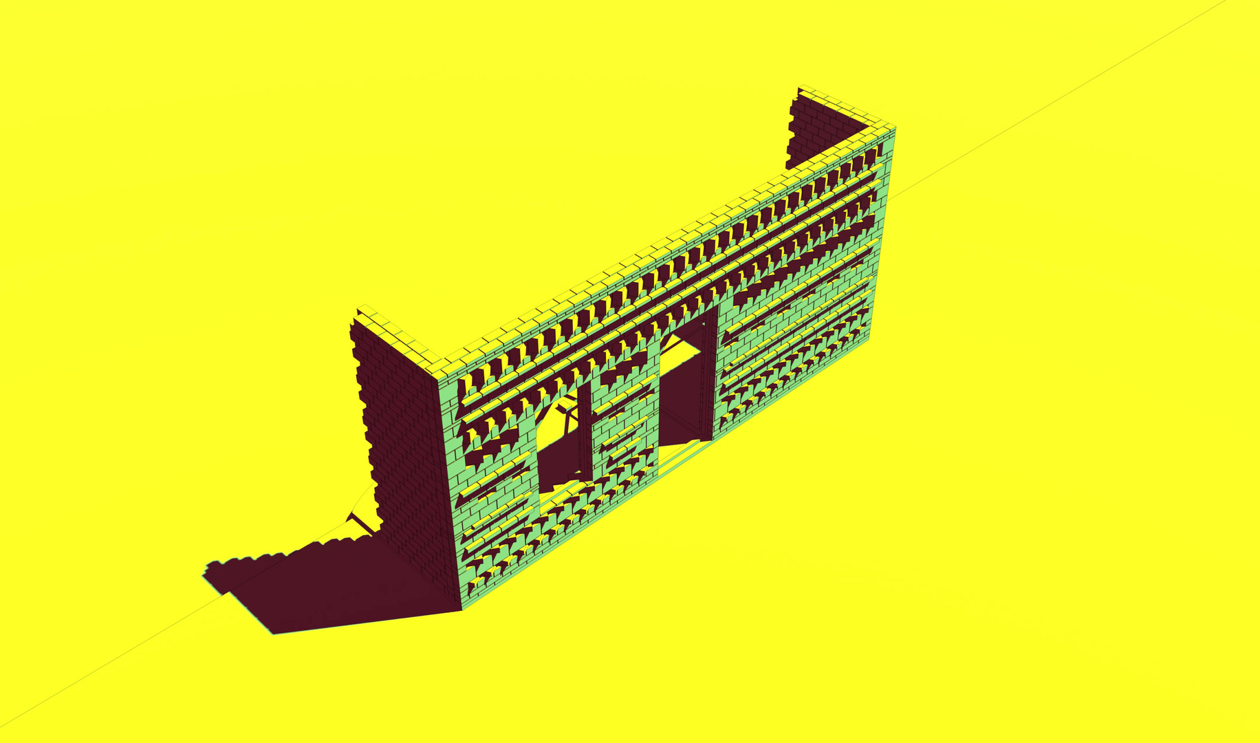 Karoo Farmhouse_Generative Brick Walls.m