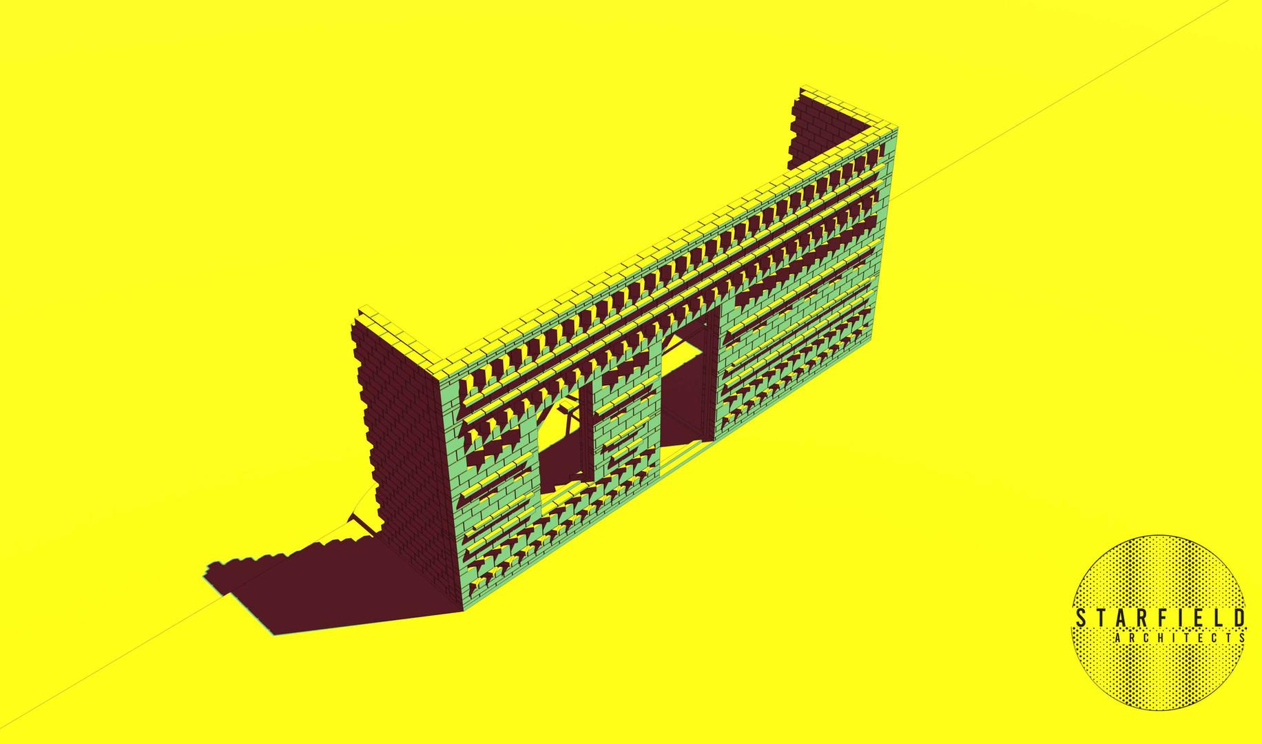Karoo Farmhouse_Generative Brick Walls 3