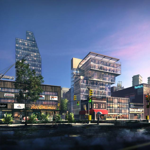 Braamfontein_Urban Revitalization Concept Render