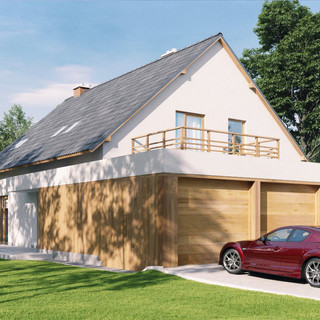 House Smith_Garage Driveway