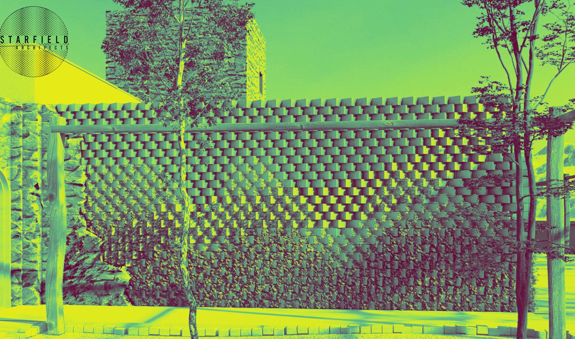 Karoo Farmhouse_Generative Brick Walls 8
