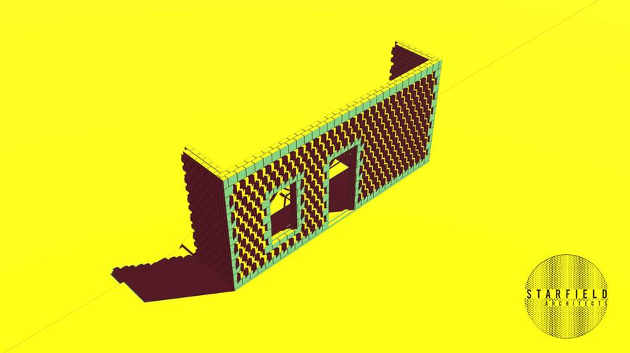 Karoo Farmhouse_Generative Brick Walls 6