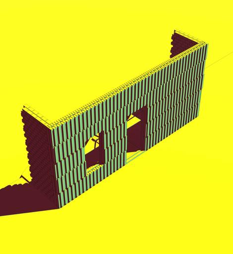 Karoo Farmhouse_Generative Brick Walls 7