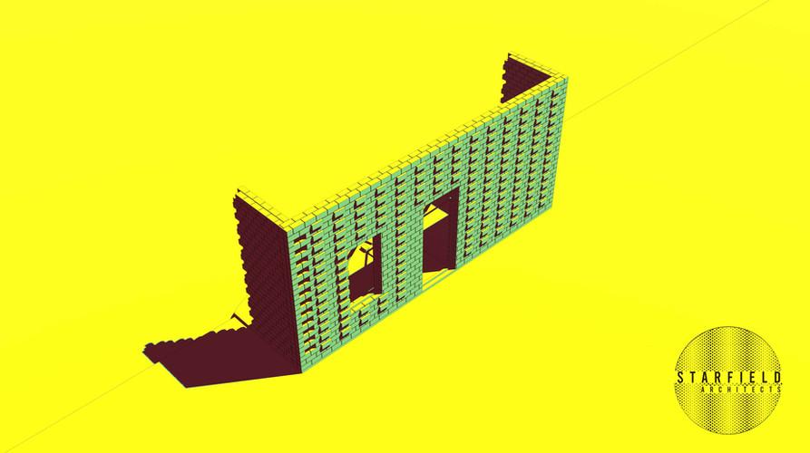 Karoo Farmhouse_Generative Brick Walls 2