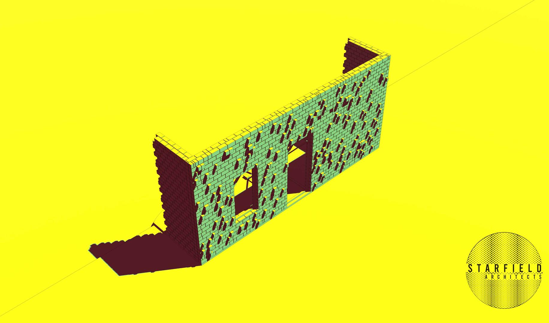 Karoo Farmhouse_Generative Brick Walls 5
