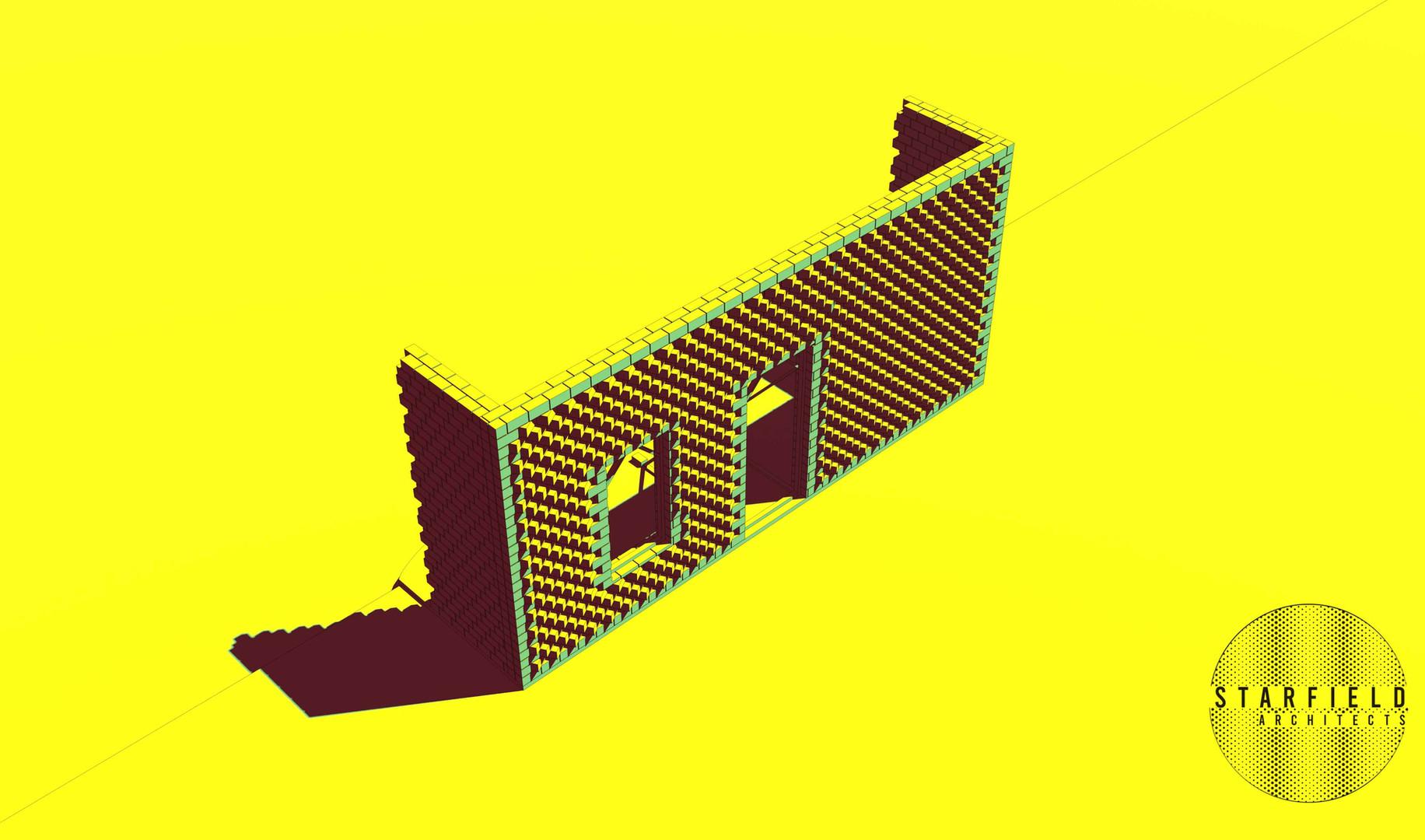 Karoo Farmhouse_Generative Brick Walls 1