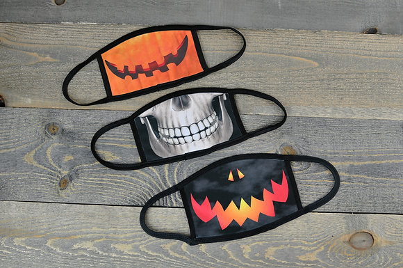 Spooky Halloween Smile Masks