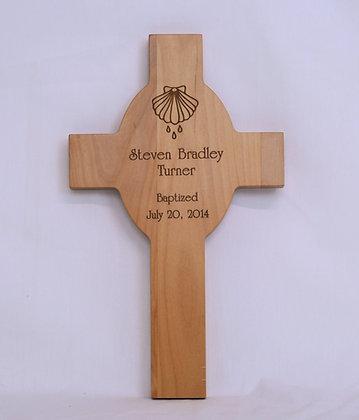 Baptism Wooden Cross