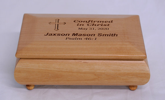 """Confirmation Footed Box - 7"""" x 4 1/2"""""""