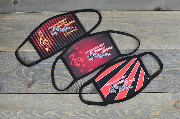 Brownstown Band Face Mask